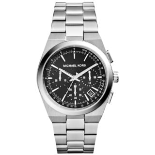Michael Kors Women's MK6054 Chronograph Channing Stainless Steel Watch