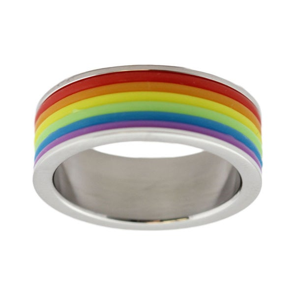 from Adrian gay stainless steel rings