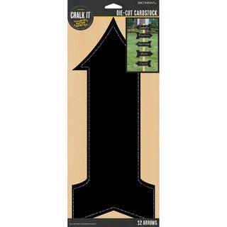 Chalk It Now Chalkboard Cardstock Die-Cuts-Arrows