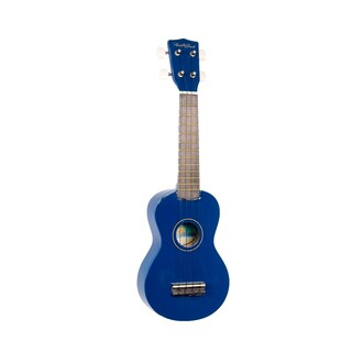 Hula Beach Soprano Ukulele (Option: Blue)