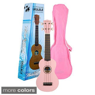 Hula Beach Soprano Ukulele (5 options available)
