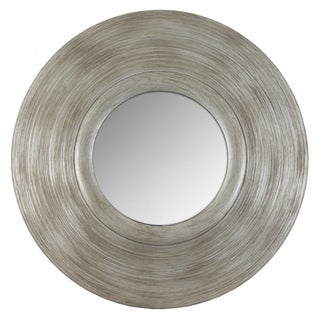 Silver Pagoda Round Mirror