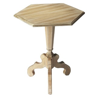 Six-sided Driftwood Accent Table