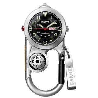 Dakota Men's Angler II Day/Date Carabiner Watch