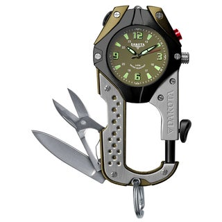 Dakota Men's Knife Clip Carabiner Watch