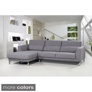 Aria Fabric Modern Sectional Sofa Set