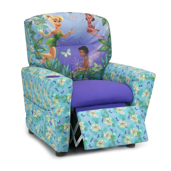 Shop Disney Fairies Kids Recliner Free Shipping Today
