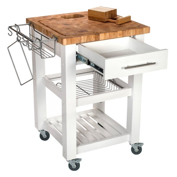 Chris U0026 Chris Pro Chef Kitchen Work Station   Free Shipping Today    Overstock.com   16815119