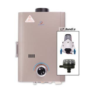 Eccotemp L7 Tankless Water Heater with Flojet Pump and Strainer|https://ak1.ostkcdn.com/images/products/9629577/P16815137.jpg?impolicy=medium