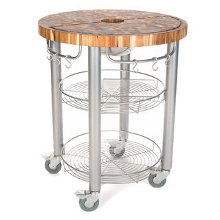 Chris & Chris Pro Stadium Kitchen Work Station Grill cart