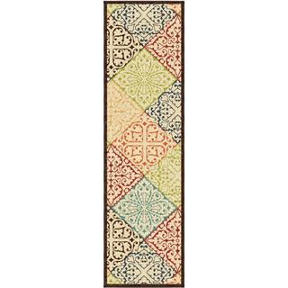 "Indoor/ Outdoor Promise Collection Walker Multi Olefin Indoor/Outdoor Runner Rug (2'3"" x 8')"