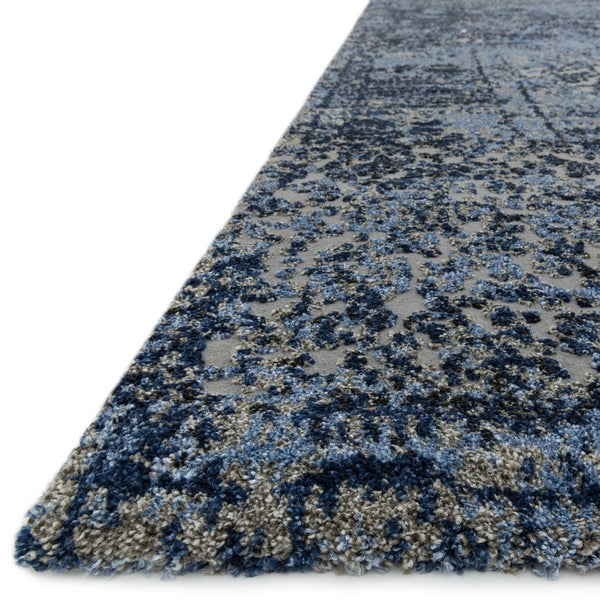 Hastings Light Blue/ Grey Rug (7u00277 X 10u00276)   Free Shipping Today    Overstock.com   16815252