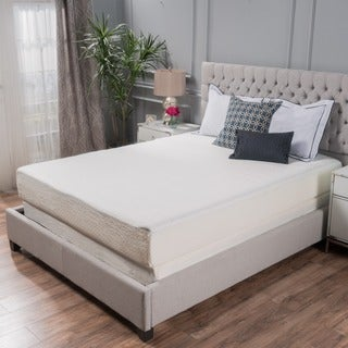 choice 10inch queensize memory foam mattress by christopher knight home