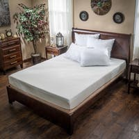 Choice 8-inch Full-size Memory Foam Mattress by Christopher Knight Home - White
