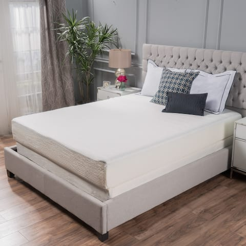 Choice 10-inch Twin-size Memory Foam Mattress by Christopher Knight Home - White