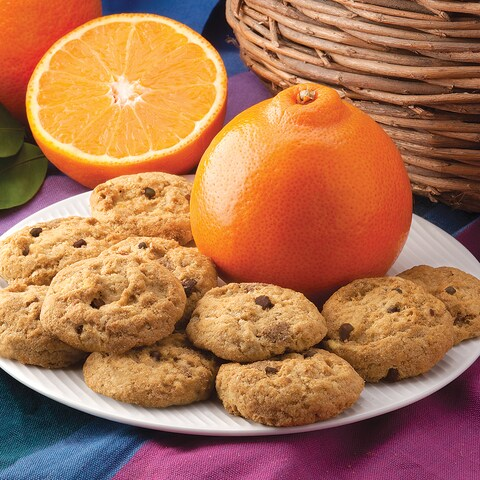 Honeybell Orange Cookies