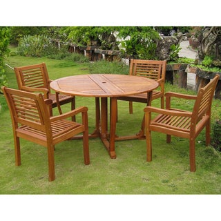 International Caravan Royal Tahiti Ventallo 5-Piece Dining Set