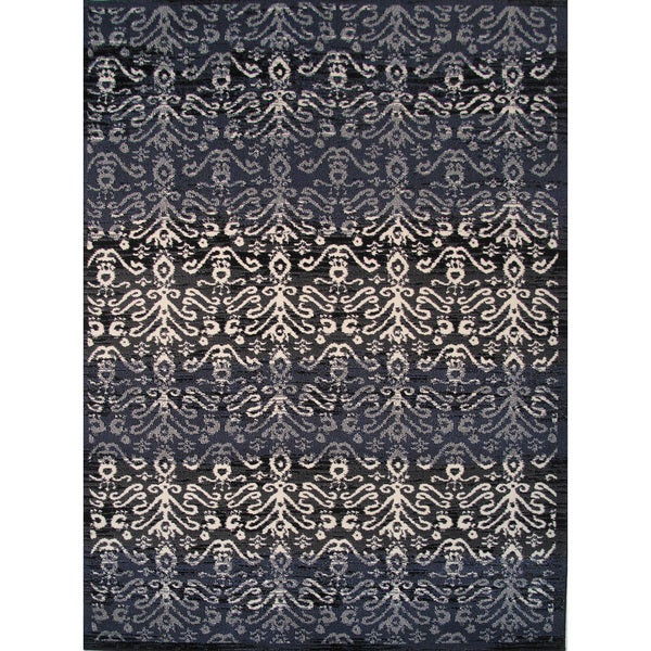 Cello Grey Area Rug (5' x 8')