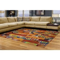 Cello Multi-colored Area Rug (5' x 8')