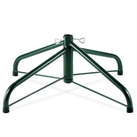 24-inch Folding Tree Stand for 6 1/2 to 8-foot Trees (With 1.25-inch Pole)
