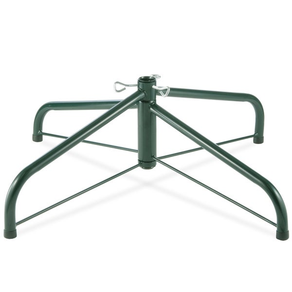 Shop 32-inch Folding Tree Stand for 9 to 12-foot Trees (With 2-inch Pole) - Overstock - 9630065