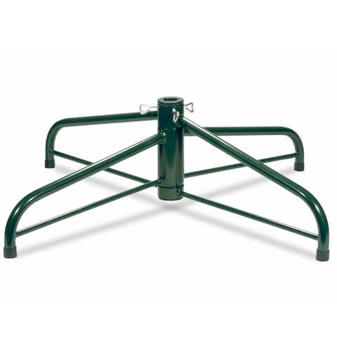 36-inch Folding Tree Stand for 9 to 12-foot Trees (With 2-inch Pole)