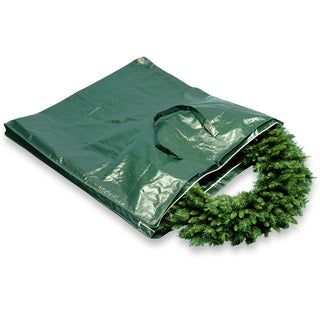 National Tree Company Green Heavy-duty Wreath and Garland Storage Bag