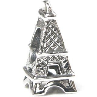 Queenberry .925 Sterling Silver 'Eiffel Tower' European Charm