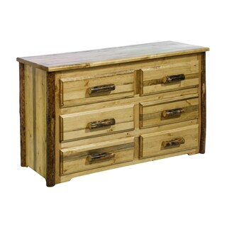 Montana Woodworks Glacier Country Collection 6-drawer Dresser