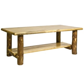 Montana Woodworks Glacier Country Collection Coffee Accent Table