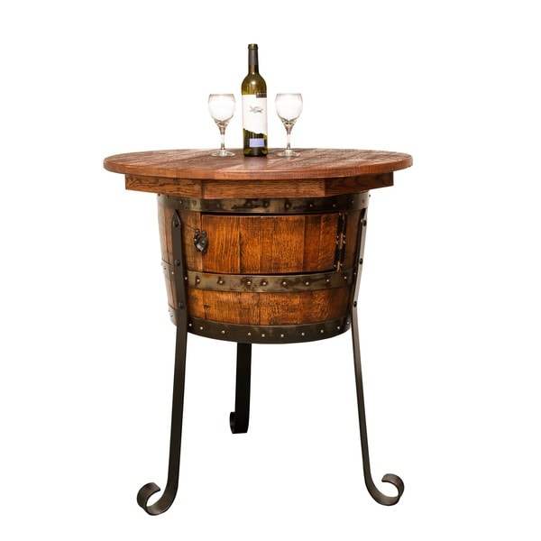 Old World Table with Cabinet
