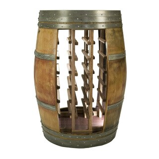 Whole Barrel Wine Rack