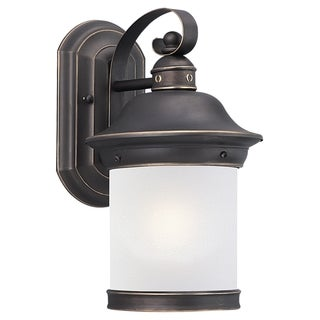 Sea Gull Lighting Bronze Outdoor Wall Lantern