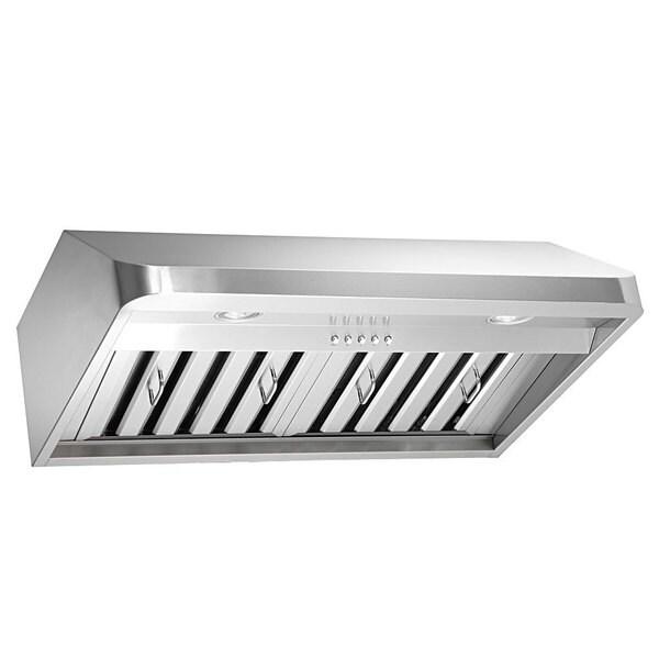 shop kobe brillia ovs chx9130sqb 40 stainless steel 30 inch under cabinet range hood free. Black Bedroom Furniture Sets. Home Design Ideas