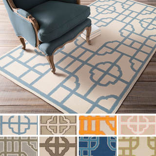 Hand-woven Vicky Reversible Wool Rug (8' x 11')