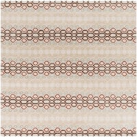 Hand-tufted Bubbles Wool Area Rug - 8' x 8'
