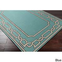 Hand-woven Newhaven Reversible Wool Area Rug (2' x 3')