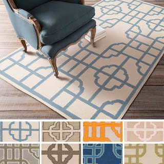 Hand-woven Vicky Reversible Wool Rug (5' x 8')