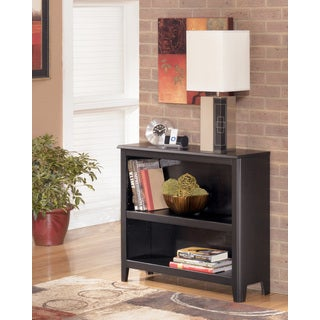 Signature Design by Ashley Carlyle Almost-Black Small Bookcase