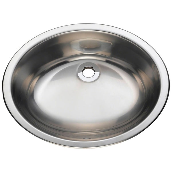 Mr Direct 1917 Stainless Steel Vanity Sink 16817307