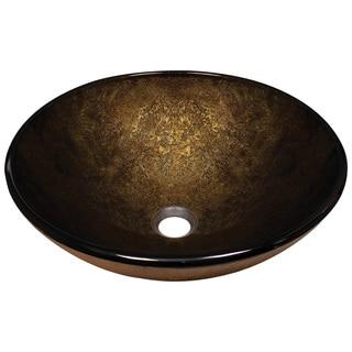 MR Direct 637 Foil Undertone Glass Vessel Sink