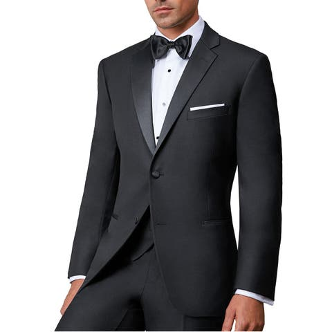 Ike Evening by Ike Behar Super 120's Wool Two Button Notch Tuxedo