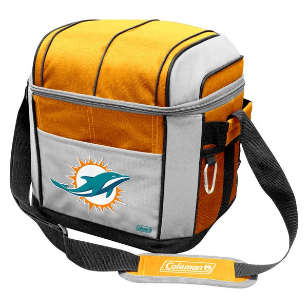 Coleman NFL Miami Dolphins Soft Sided 24 Can Cooler