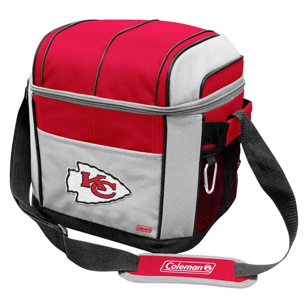 Coleman NFL Kansas City Chiefs Soft Sided 24 Can Cooler
