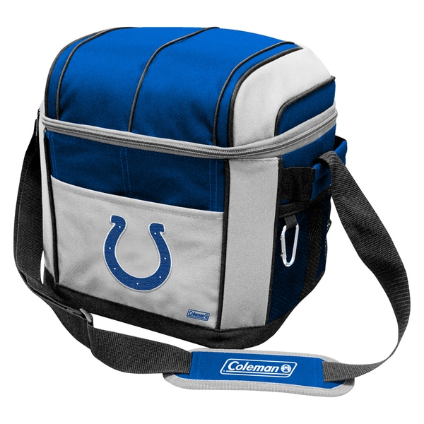 Coleman NFL Indianapolis Colts Soft Sided 24 Can Cooler