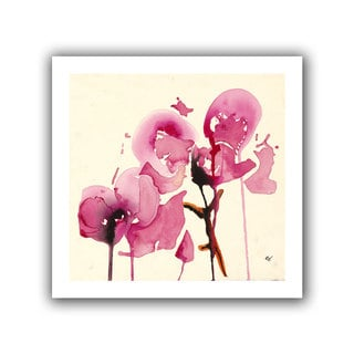 ArtWall Karin Johanneson 'Orchids I' Unwrapped Canvas