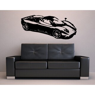 Sports Car Wall Art Decor