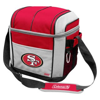 Coleman NFL San Francisco 49ers Soft Sided 24 Can Cooler|https://ak1.ostkcdn.com/images/products/9632029/P16817402.jpg?impolicy=medium