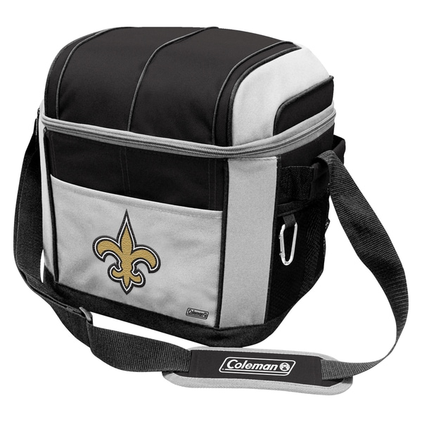 Coleman NFL New Orleans Saints Soft Sided 24 Can Cooler