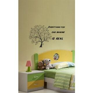 Wall Vinyl Art Home Interior Sticker Quote Phrase About Art
